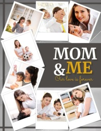 Mom & Me, Mother's Day Flyer (US Letter) template