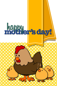 Mommy & chickens