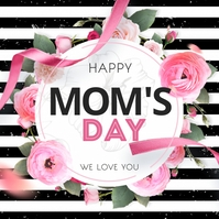 Moms day, Mother's day, Women's day Kvadrat (1:1) template