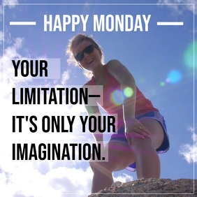 Monday motivation flyer