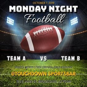 MONDAY NIGHT FOOTBALL TEMPLATE