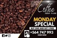 Monday special Etichetta template