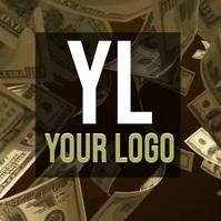 MONEY CASH LOGO DESIGN TEMPLATE โลโก้
