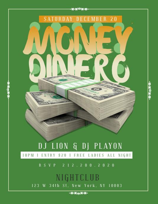 MONEY Flyer Template