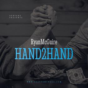 Money Hands Mixtape CD Cover Template