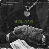 Money Love CD Mixtape Cover Design Template