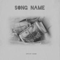 MONEY mixtape album cover template