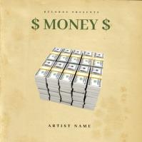 Money mixtape cover design
