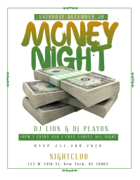 MONEY NIGHT Flyer Template