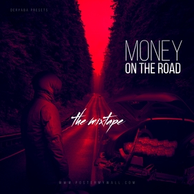 Money on The Road Mixtape CD Cover