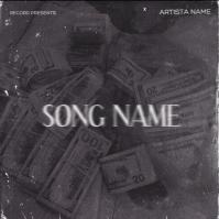 money rap mixtape cover art design template Pochette d'album