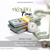 Money time Music Mixtape/Album Cover A template