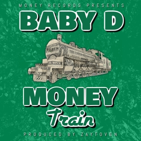 MONEY TRAIN RAP ALBUM COVER TEMPLATE