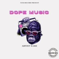 monkey Music Mixtape/Album Cover A template