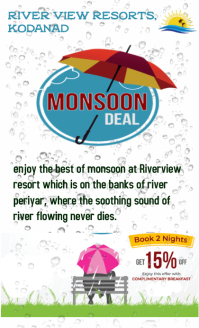 Monsoon retreat