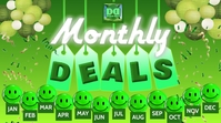 MONTHLY DEALS YouTube-thumbnail template