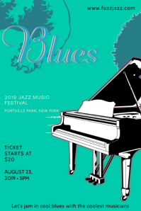 Moody Blues Piano Poster 海报 template