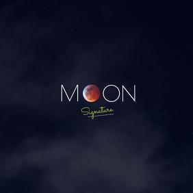 Moon album Cover Design