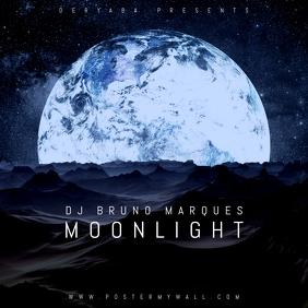Moon Light Fantasy Planet CD Cover Art