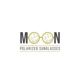 Moon Sunglasses Logo template