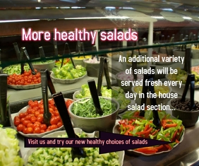 More healthy salads