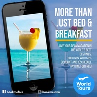 More than just bed and breakfast instagram ad template
