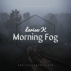 Morning CD Music Cover Template