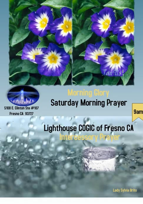 Morning Glory Prayer