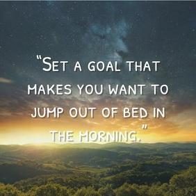 Morning Inspire Quote Instagram Plasing template