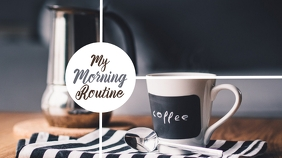 morning routine channel thumbnail