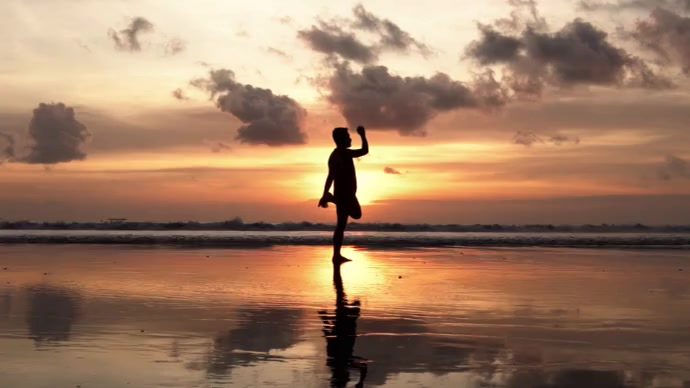 Morning Yoga Pose Foto di copertina del canale YouTube template