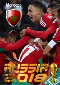 Morocco Squad Poster