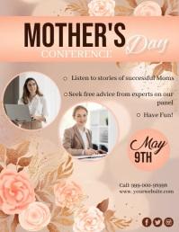 Mother's Day, Conference Iflaya (Incwadi ye-US) template