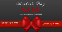 Mother's day, event, greeting,retail Publicité Facebook template