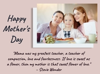 Mother's day, event, greeting,retail Präsentation template