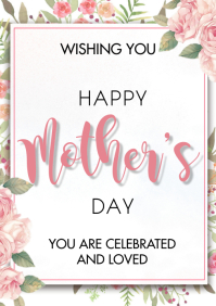 Mother's Day 2021 A3 template