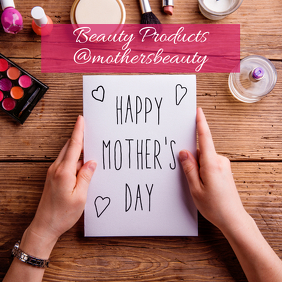 Mother's Day Beauty Sale Instagram Post