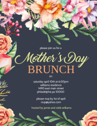 Mother's day Brunch Flyer (US Letter) template