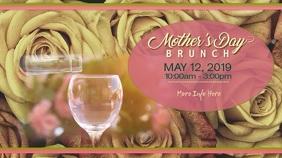 Mother's Day Brunch Digital Display