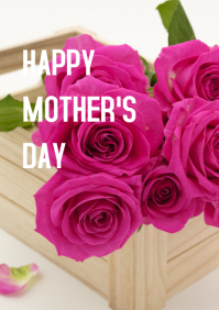MOTHER'S DAY A3 template
