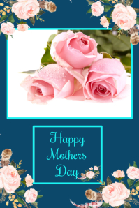 mother's day card design template,online greeting card