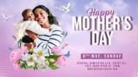Mother's day celebrate twitter post template