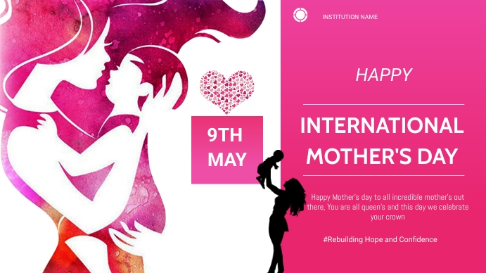 Mother's day Presentation (16:9) template
