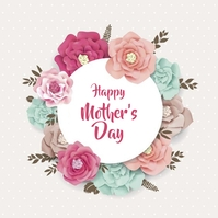 Mother's Day Instagram Post template