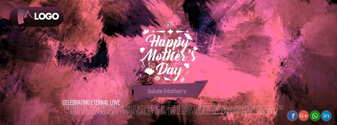 Mother's day Zdjęcie w tle na Facebooka template