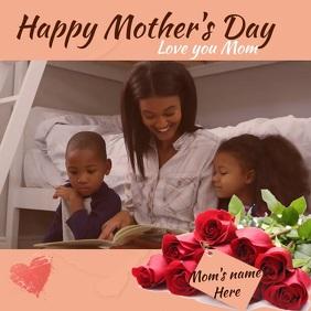 MOTHER'S DAY Publicação no Instagram template