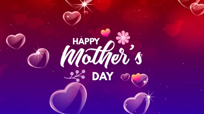 Mother's day Twitter-bericht template