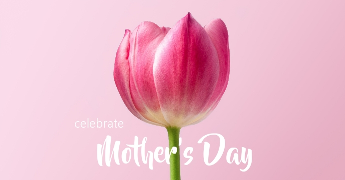 Mother's Day Facebook-evenementomslag template