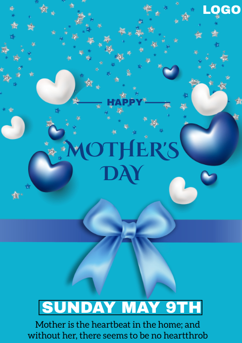 Mother's Day A4 template