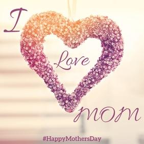 Mother's Day Instagram Post DesignTemplate
